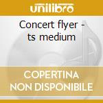 Concert flyer - ts medium cd musicale