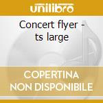 Concert flyer - ts large cd musicale
