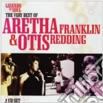 THE VERY BEST OF... cd musicale di FRANKLIN ARETHA & OTIS REDDING