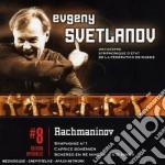 Rachmaninov - Svetlanov - Svetlanov Edition: Sinfonia N. 1 - Scherzo In Re cd musicale di Rachmaninov\svetlano