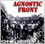 Agnostic Front - One Voice cd musicale di Front Agnostic
