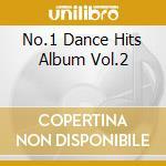 NO.1 - DANCE HITS ALBUM VOL.2  (BOX 4 CD) cd musicale di ARTISTI VARI