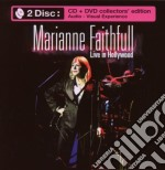 LIVE IN HOOLYWOOD (CD+ DVD) cd musicale di Marianne Faithfull