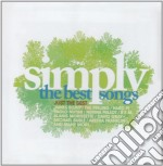 Simply the best songs cd musicale di Artisti Vari