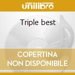 Triple best cd musicale di Claude Francois