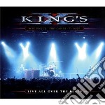 Live all over the place cd musicale di X King's