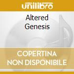 ALTERED GENESIS cd musicale di BLOOD RED THRONE