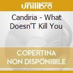 WHAT DOESN'T KILL YOU... cd musicale di CANDIRIA