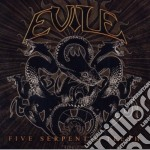 Evile - Five Serpent's Teeth cd musicale di Evile