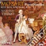 Piano sonatas k332,333,54 cd musicale di Wolfgang Amadeus Mozart