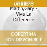 Viva la diference cd musicale di Gary Martin
