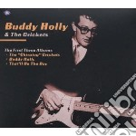THE FIRST THREE ALBUMS (THE CHIRPING CRICKETS/BUDDY HOLLY/THAT'LL BE THE DAY) cd musicale di HOLLY BUDDY & THE CRICKETS
