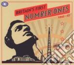 Britains first no 1s cd musicale di Artisti Vari