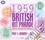 1959 british hit paradepart one cd musicale di Artisti Vari