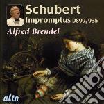 Impromptus d899,935 cd musicale di F. Schubert