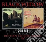 Return to the sabbat iv cd musicale di Widow Black
