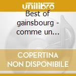 Best of gainsbourg - comme un boomerang cd musicale di Serge Gainsbourg