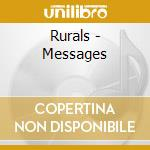 MESSAGE cd musicale di RURALS