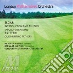INTRODUCION AND ALLEGRO, ENIGMA VARIATIO cd musicale di Edward Elgar