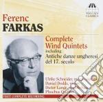 Farkas Ferenc - Complete Wind Quintets - Serenata Per Quintetto Di Legni, Lavottiana cd musicale di Ferenc Farkas