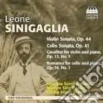 Sinigaglia Leone - Sonata Per Violino Op.44, Sonata Per Violoncello Op.41, Romanza Op.16 N.1 cd musicale di Leone Sinigaglia