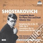 Musica per duo pianistico (integrale), v cd musicale di Dmitri Sciostakovic