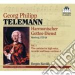 Telemann Georg Philip - Harmoischer Gottes-dienst, Vol.1 cd musicale di Telemann georg phili