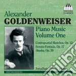 Goldenweise Alexander - Musica Per Pianoforte, Vol.1 cd musicale di Alexande Goldenweise
