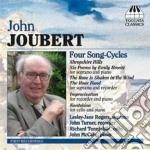 FOUR SONGS-CYCLES cd musicale di John Joubert