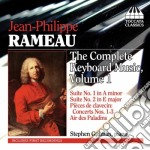 Musica per tastiera, vol.1 cd musicale di RAMEAU JEAN PHILIPPE
