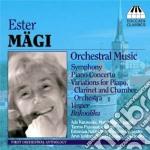 """Mägi Ester - Concerto Per Pianoforte N.1, Sinfonia Estone, Vespri Per Archi, Bukoolika cd musicale di Ester MÃ""""gi"""