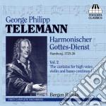 Telemann Georg Philip - Harmonischer Gottes-dienst, Vol.2 cd musicale di Telemann georg phili
