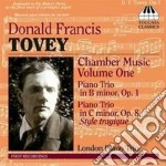 Tovey Donald - Musica Da Camera, Vol.1 cd musicale di Donald Tovey