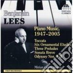 Lees Benjamin - Opere Per Pianoforte cd musicale di Benjamin Lees