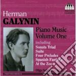 Musica per pianoforte, vol.1 cd musicale di Herman Galynin