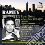Musica per pianoforte, vol.2 (1966-2007) cd musicale di Phillip Ramey
