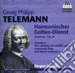 Harmonischer gottes-dienst, vol.4 cd musicale di Telemann georg phili