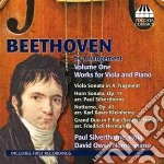 Beethoven by arrangement vol.1 cd musicale di Beethoven ludwig van