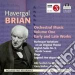 Brian Havergal - Musica Per Orchestra, Vol.1 cd musicale di Havergal Brian