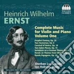 Complete music for violin and piano vol. cd musicale di Ernst heinrich wilhe