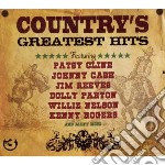 (3cd) country's greatest hits cd musicale di Artisti Vari