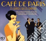 (3cd) cafe' de paris: 75 grands succes f cd musicale di Artisti Vari