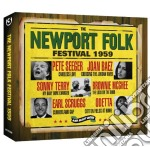 (3cd) the newport folk festival 1959 cd musicale di Artisti Vari