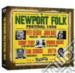 (3cd) the newport folk festival 1959 cd musicale di Artisti Vari