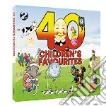 40 children's fovourites (2cd) cd musicale di Artisti Vari