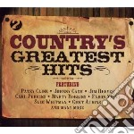 Country's greatest hits a.v.2cd 10 cd musicale di ARTISTI VARI