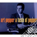 A taste of pepper cd musicale di Art Pepper