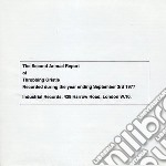 Second annual report ofthrobbing gristle cd musicale di Gristle Throbbling