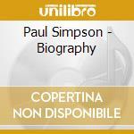 Biography cd musicale di Paul Simpson