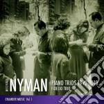 Piano trios 1992-2010 cd musicale di Nyman-fideli Michael